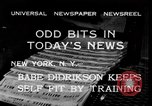 Image of Babe Didrikson New York United States USA, 1933, second 2 stock footage video 65675042741