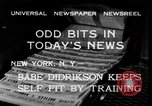 Image of Babe Didrikson New York United States USA, 1933, second 3 stock footage video 65675042741