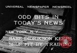 Image of Babe Didrikson New York United States USA, 1933, second 5 stock footage video 65675042741