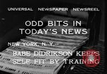 Image of Babe Didrikson New York United States USA, 1933, second 6 stock footage video 65675042741