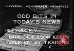 Image of Babe Didrikson New York United States USA, 1933, second 10 stock footage video 65675042741