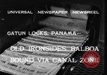 Image of USS Constitution ship Panama, 1933, second 3 stock footage video 65675042742