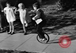 Image of unicycle Los Angeles California USA, 1933, second 26 stock footage video 65675042743