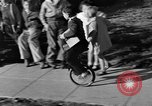 Image of unicycle Los Angeles California USA, 1933, second 27 stock footage video 65675042743