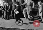 Image of unicycle Los Angeles California USA, 1933, second 28 stock footage video 65675042743