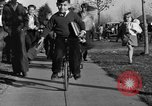 Image of unicycle Los Angeles California USA, 1933, second 33 stock footage video 65675042743