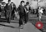 Image of unicycle Los Angeles California USA, 1933, second 35 stock footage video 65675042743