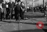 Image of unicycle Los Angeles California USA, 1933, second 38 stock footage video 65675042743