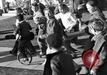 Image of unicycle Los Angeles California USA, 1933, second 41 stock footage video 65675042743