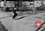 Image of unicycle Los Angeles California USA, 1933, second 50 stock footage video 65675042743