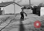 Image of unicycle Los Angeles California USA, 1933, second 55 stock footage video 65675042743