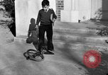 Image of unicycle Los Angeles California USA, 1933, second 61 stock footage video 65675042743