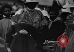 Image of Emperor Haile Selassie I preparing for Italian invasion Addis Ababa Abyssinia, 1935, second 15 stock footage video 65675042760