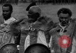Image of Emperor Haile Selassie I preparing for Italian invasion Addis Ababa Abyssinia, 1935, second 18 stock footage video 65675042760