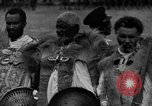 Image of Emperor Haile Selassie I preparing for Italian invasion Addis Ababa Abyssinia, 1935, second 19 stock footage video 65675042760