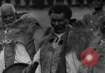 Image of Emperor Haile Selassie I preparing for Italian invasion Addis Ababa Abyssinia, 1935, second 21 stock footage video 65675042760