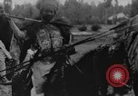 Image of Emperor Haile Selassie I preparing for Italian invasion Addis Ababa Abyssinia, 1935, second 24 stock footage video 65675042760