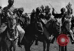 Image of Emperor Haile Selassie I preparing for Italian invasion Addis Ababa Abyssinia, 1935, second 27 stock footage video 65675042760