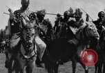 Image of Emperor Haile Selassie I preparing for Italian invasion Addis Ababa Abyssinia, 1935, second 29 stock footage video 65675042760