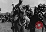 Image of Emperor Haile Selassie I preparing for Italian invasion Addis Ababa Abyssinia, 1935, second 30 stock footage video 65675042760