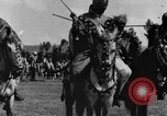 Image of Emperor Haile Selassie I preparing for Italian invasion Addis Ababa Abyssinia, 1935, second 31 stock footage video 65675042760