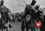 Image of Emperor Haile Selassie I preparing for Italian invasion Addis Ababa Abyssinia, 1935, second 32 stock footage video 65675042760