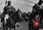 Image of Emperor Haile Selassie I preparing for Italian invasion Addis Ababa Abyssinia, 1935, second 33 stock footage video 65675042760