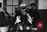 Image of Emperor Haile Selassie I preparing for Italian invasion Addis Ababa Abyssinia, 1935, second 44 stock footage video 65675042760