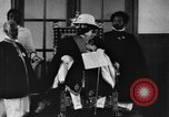 Image of Emperor Haile Selassie I preparing for Italian invasion Addis Ababa Abyssinia, 1935, second 46 stock footage video 65675042760