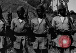 Image of Emperor Haile Selassie I preparing for Italian invasion Addis Ababa Abyssinia, 1935, second 58 stock footage video 65675042760