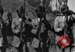 Image of Emperor Haile Selassie I preparing for Italian invasion Addis Ababa Abyssinia, 1935, second 60 stock footage video 65675042760
