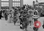 Image of American children parade in costume Ocean Park California USA, 1935, second 7 stock footage video 65675042765