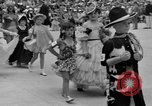Image of American children parade in costume Ocean Park California USA, 1935, second 8 stock footage video 65675042765