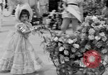Image of American children parade in costume Ocean Park California USA, 1935, second 13 stock footage video 65675042765