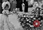 Image of American children parade in costume Ocean Park California USA, 1935, second 15 stock footage video 65675042765
