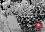 Image of American children parade in costume Ocean Park California USA, 1935, second 16 stock footage video 65675042765