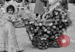 Image of American children parade in costume Ocean Park California USA, 1935, second 18 stock footage video 65675042765