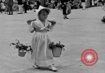 Image of American children parade in costume Ocean Park California USA, 1935, second 19 stock footage video 65675042765