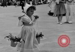 Image of American children parade in costume Ocean Park California USA, 1935, second 20 stock footage video 65675042765