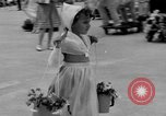Image of American children parade in costume Ocean Park California USA, 1935, second 21 stock footage video 65675042765