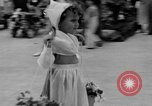 Image of American children parade in costume Ocean Park California USA, 1935, second 22 stock footage video 65675042765