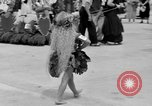 Image of American children parade in costume Ocean Park California USA, 1935, second 32 stock footage video 65675042765
