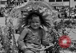 Image of American children parade in costume Ocean Park California USA, 1935, second 42 stock footage video 65675042765