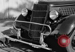 Image of bumper of a car Springfield Massachusetts USA, 1935, second 5 stock footage video 65675042766