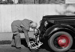 Image of bumper of a car Springfield Massachusetts USA, 1935, second 18 stock footage video 65675042766