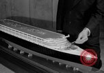 Image of model of a lier New York United States USA, 1936, second 34 stock footage video 65675042779