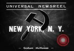 Image of anti-Nazi rally New York United States USA, 1938, second 4 stock footage video 65675042784