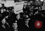 Image of anti-Nazi rally New York United States USA, 1938, second 16 stock footage video 65675042784
