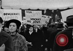 Image of anti-Nazi rally New York United States USA, 1938, second 21 stock footage video 65675042784