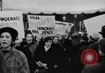 Image of anti-Nazi rally New York United States USA, 1938, second 22 stock footage video 65675042784